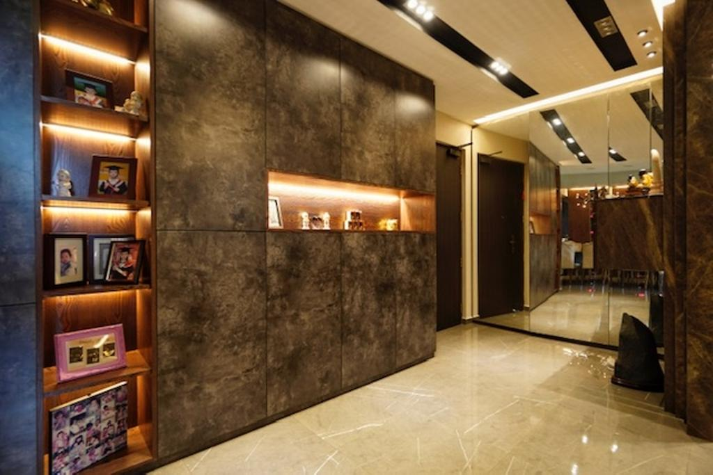 Transitional, HDB, Living Room, Keat Hong Close, Interior Designer, Groove Interior Design