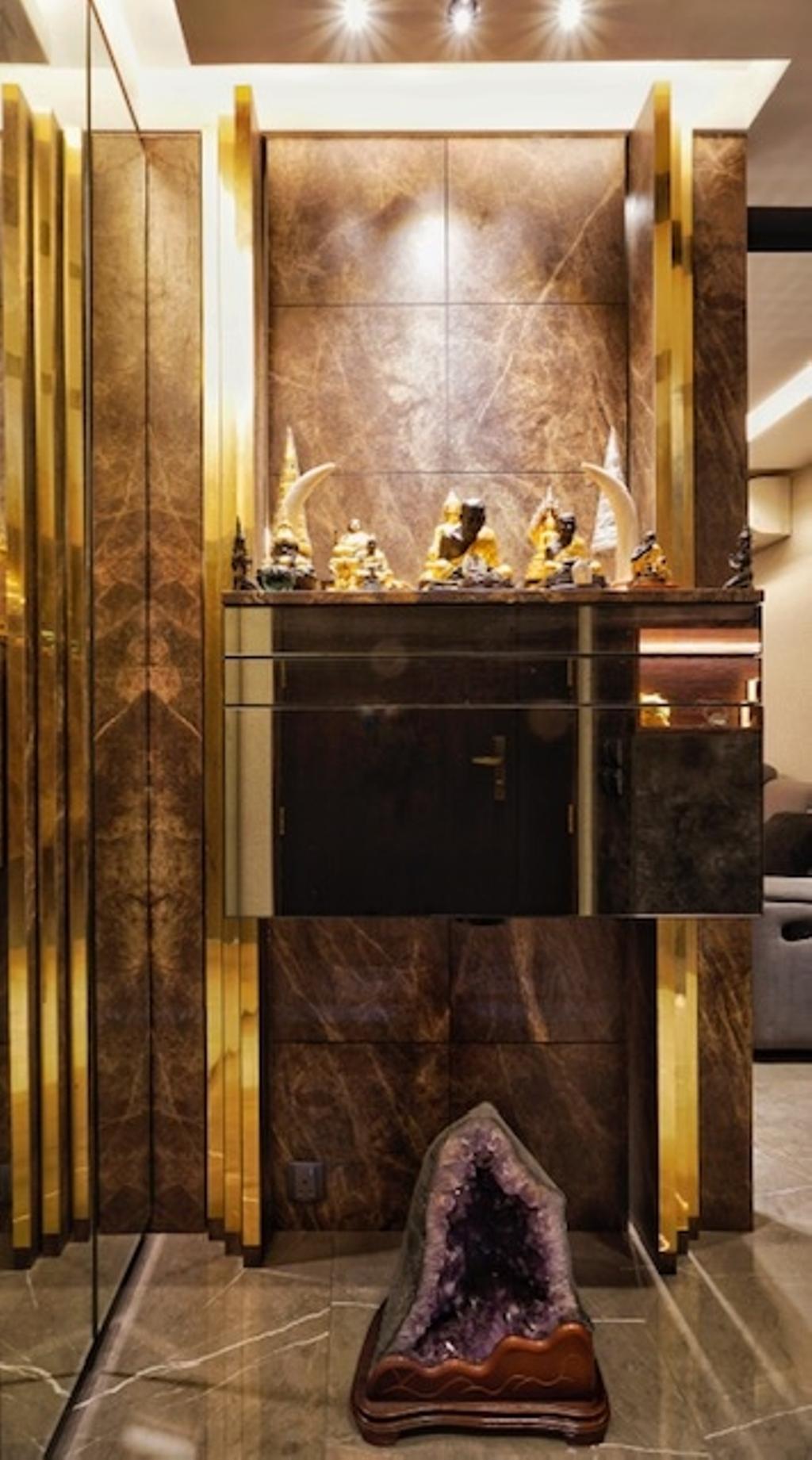 Transitional, HDB, Keat Hong Close, Interior Designer, Groove Interior Design