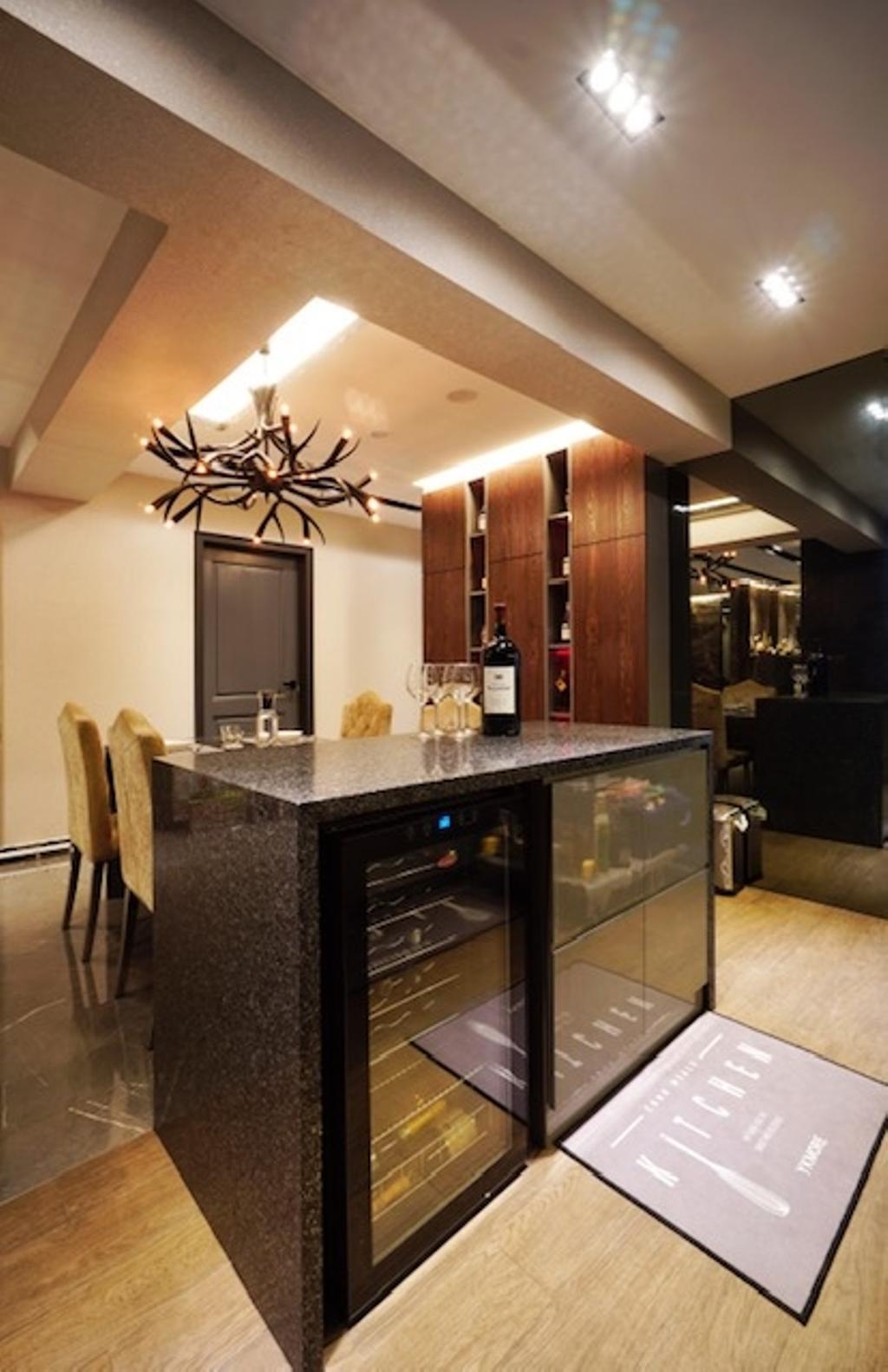 Transitional, HDB, Dining Room, Keat Hong Close, Interior Designer, Groove Interior Design