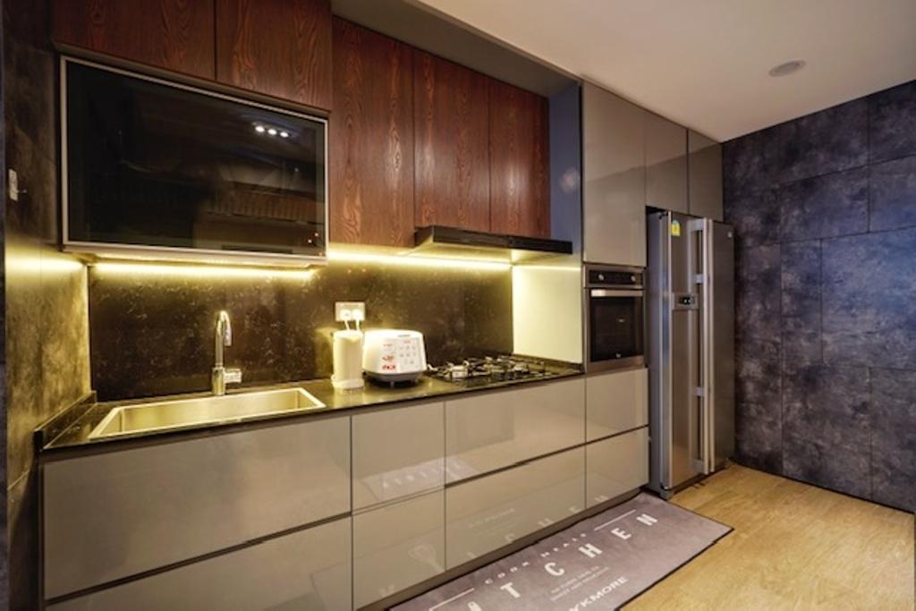Transitional, HDB, Kitchen, Keat Hong Close, Interior Designer, Groove Interior Design