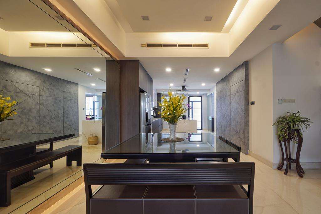 Contemporary, Landed, Dining Room, Greenwood Terrace, Interior Designer, Groove Interior Design
