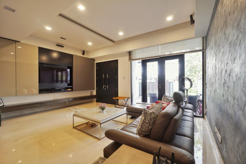Contemporary, Landed, Living Room, Greenwood Terrace, Interior Designer, Groove Interior Design