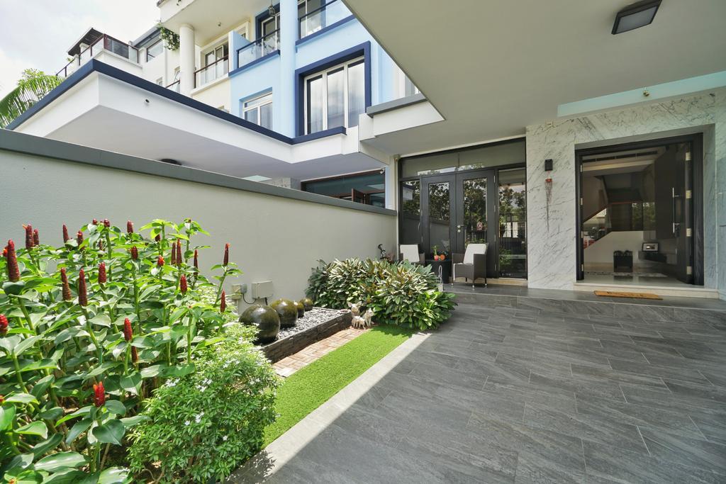 Contemporary, Landed, Garden, Greenwood Terrace, Interior Designer, Groove Interior Design