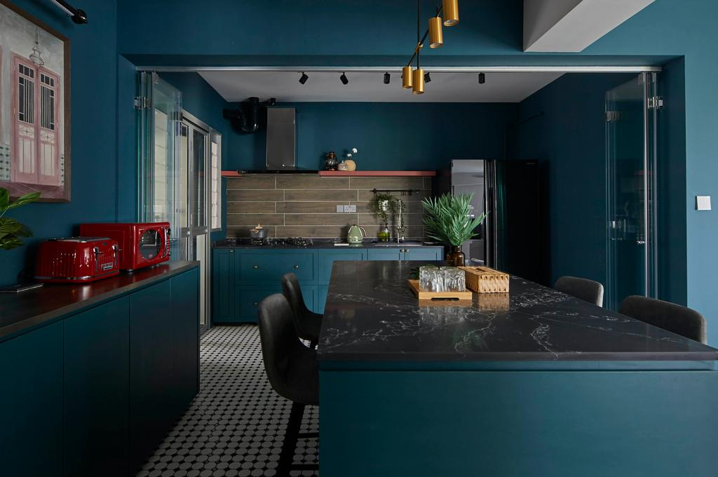 Contemporary, HDB, Kitchen, East Delta @ Canberra, Interior Designer, The Interior Lab