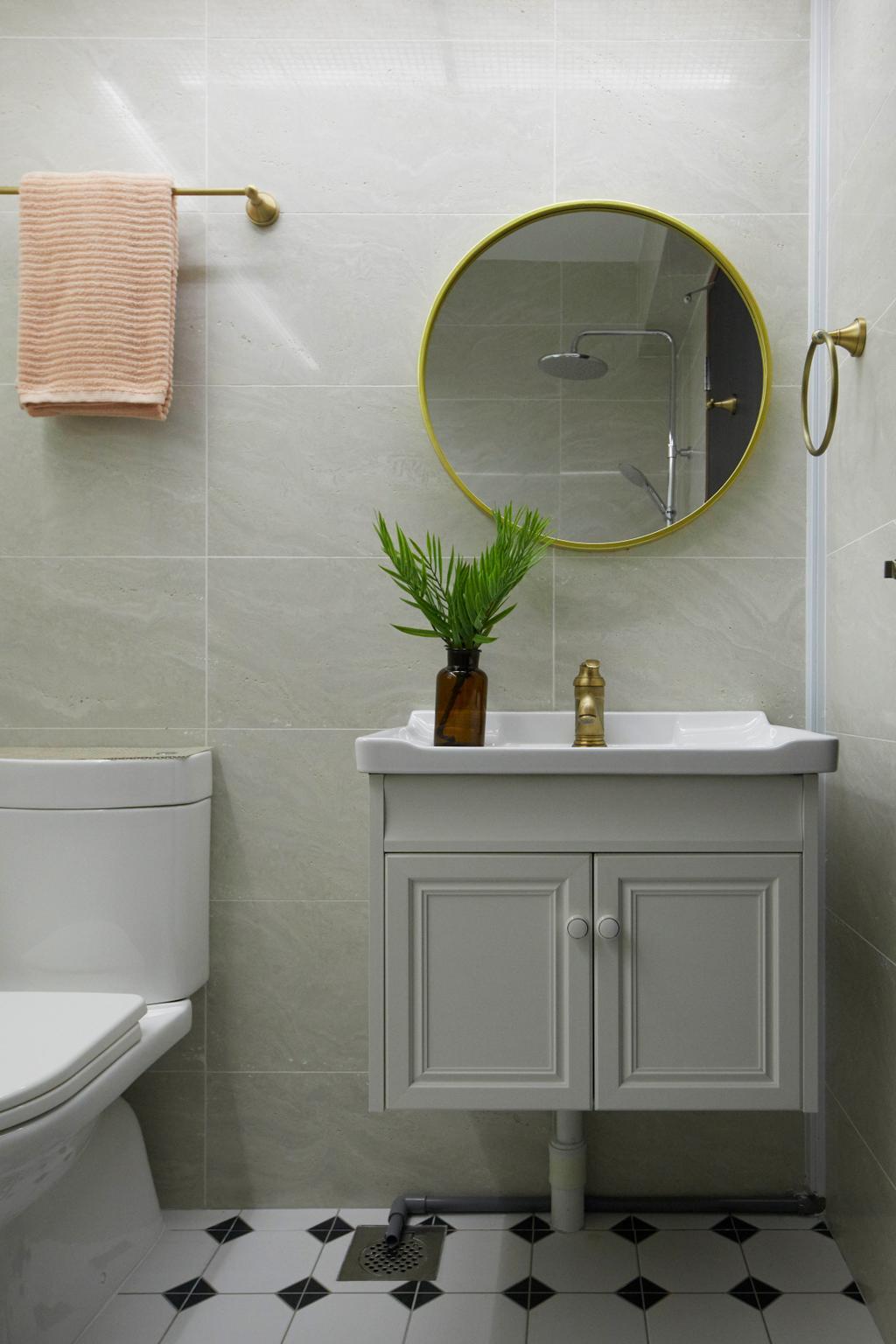 Contemporary, HDB, Bathroom, East Delta @ Canberra, Interior Designer, The Interior Lab