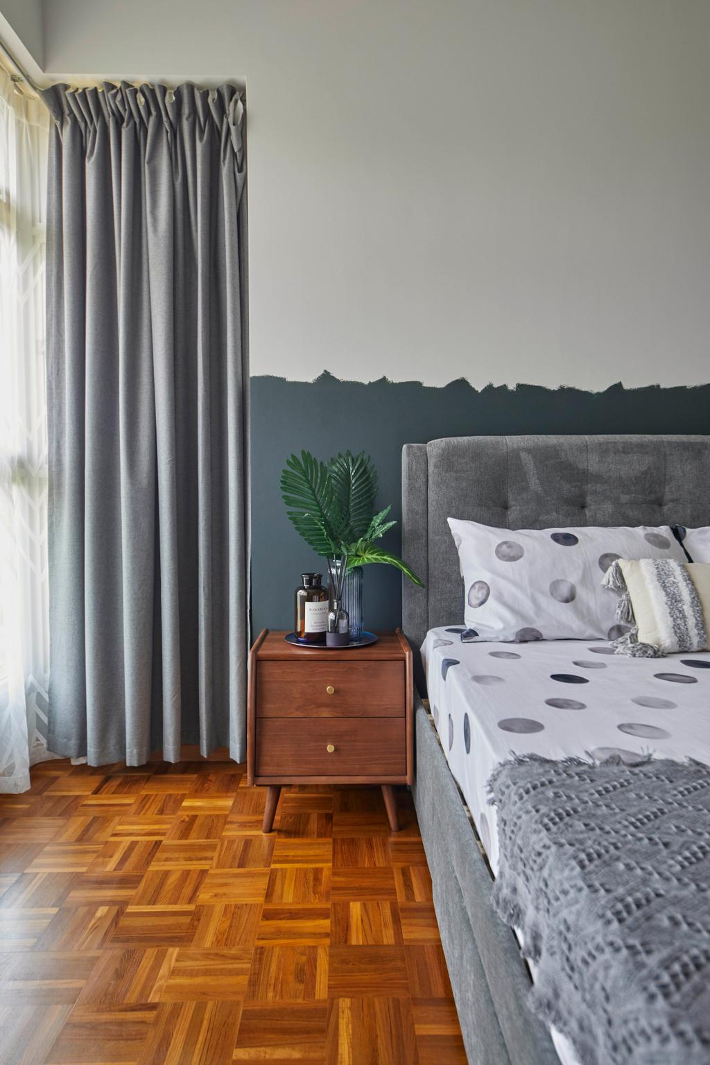 Contemporary, HDB, Bedroom, East Delta @ Canberra, Interior Designer, The Interior Lab