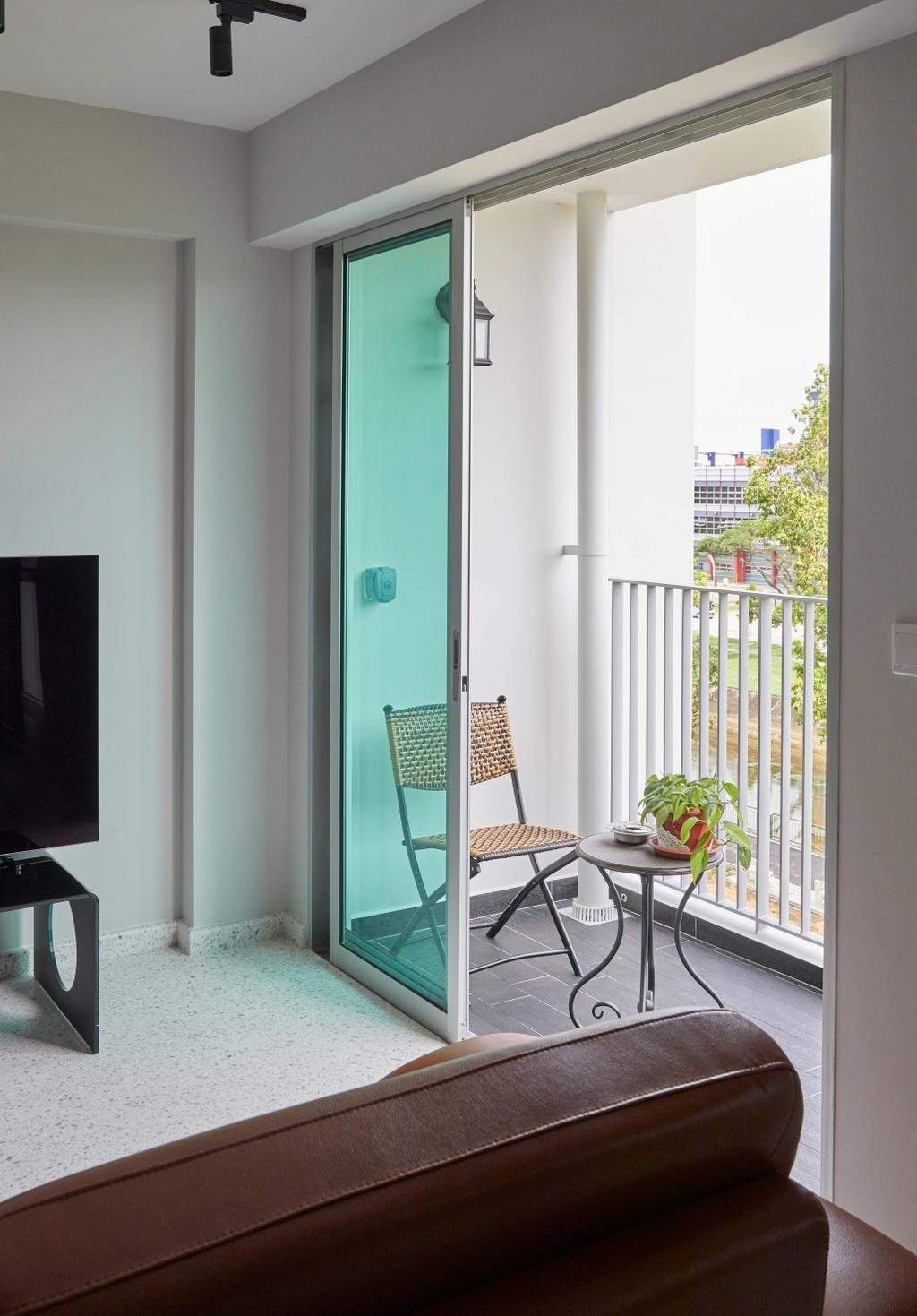 Contemporary, HDB, Balcony, East Delta @ Canberra, Interior Designer, The Interior Lab