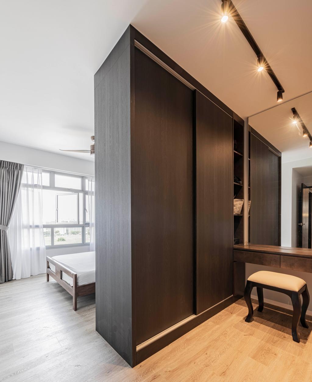 Contemporary, HDB, Bedroom, Tampines North Drive 1, Interior Designer, Metier Planner