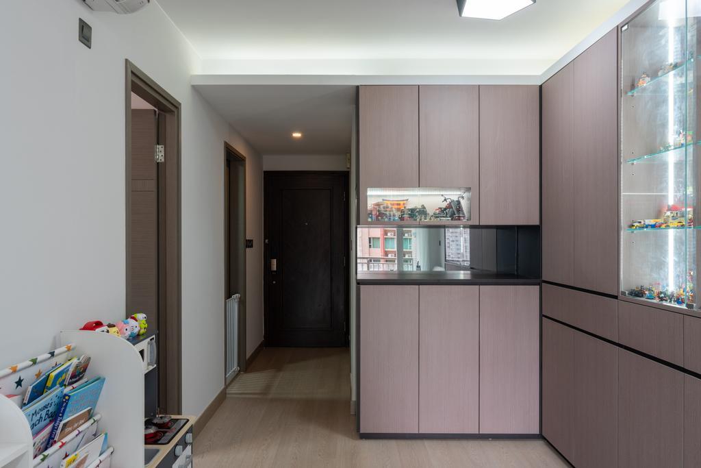當代, 私家樓, 客廳, 柏慧豪園, 室內設計師, X Ka Design