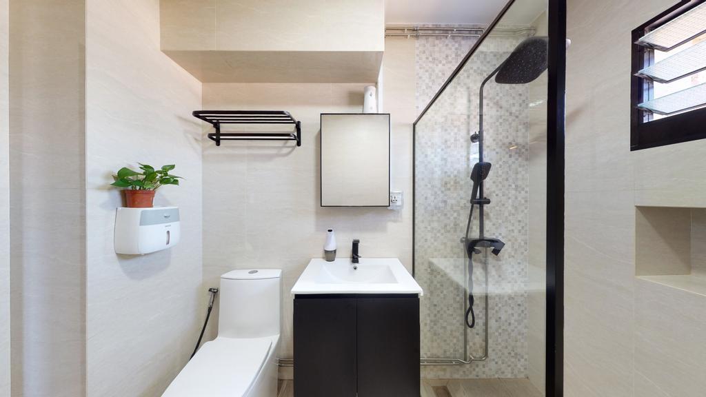 Contemporary, HDB, Bathroom, Tampines Street 82, Interior Designer, Stylemyspace