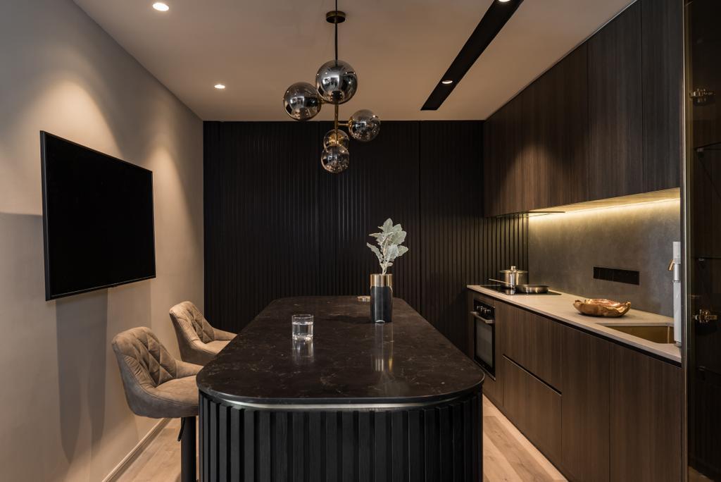 Contemporary, Condo, Skyridge gardens, Tanjung Tokong, Interior Designer, Nevermore Group