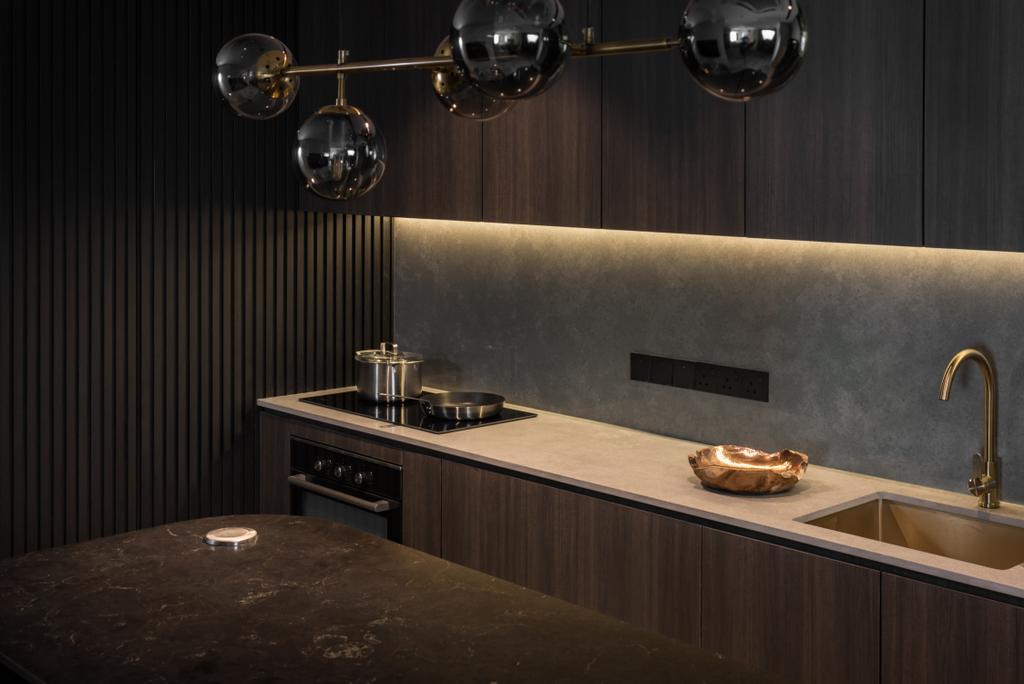 Contemporary, Condo, Kitchen, Skyridge gardens, Tanjung Tokong, Interior Designer, Nevermore Group