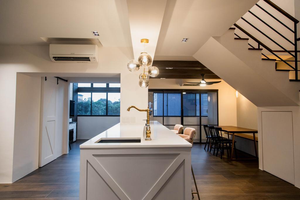 Transitional, HDB, Dining Room, Bishan Street 23, Interior Designer, Forefront Interior
