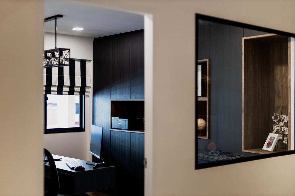 Transitional, HDB, Study, Bishan Street 23, Interior Designer, Forefront Interior