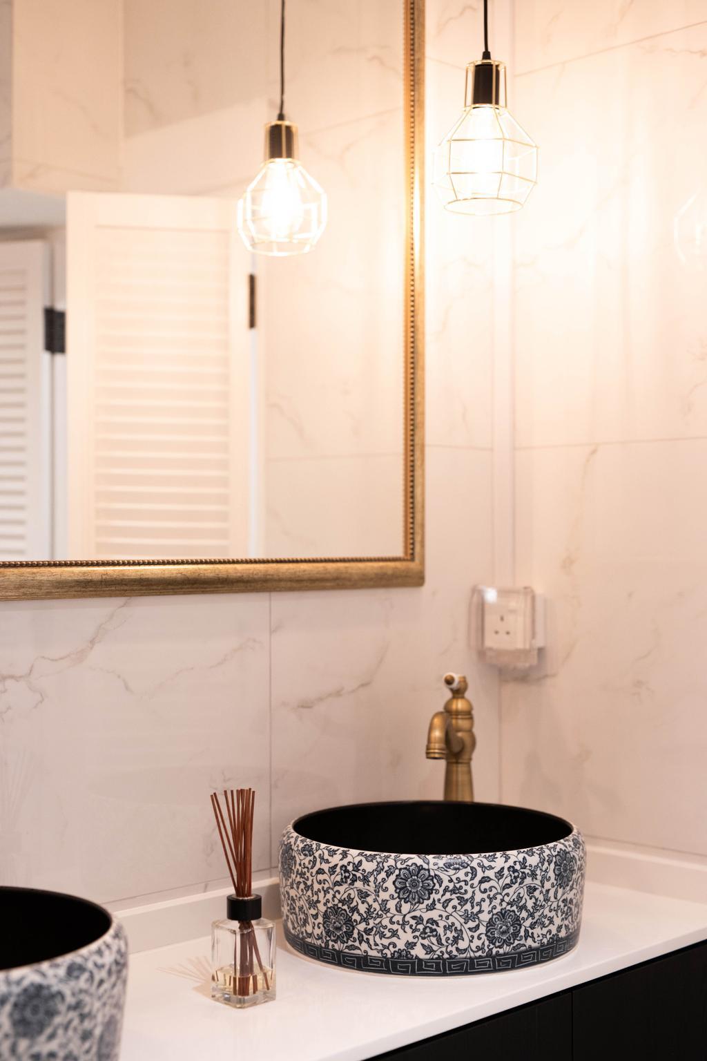 Transitional, HDB, Bathroom, Bishan Street 23, Interior Designer, Forefront Interior