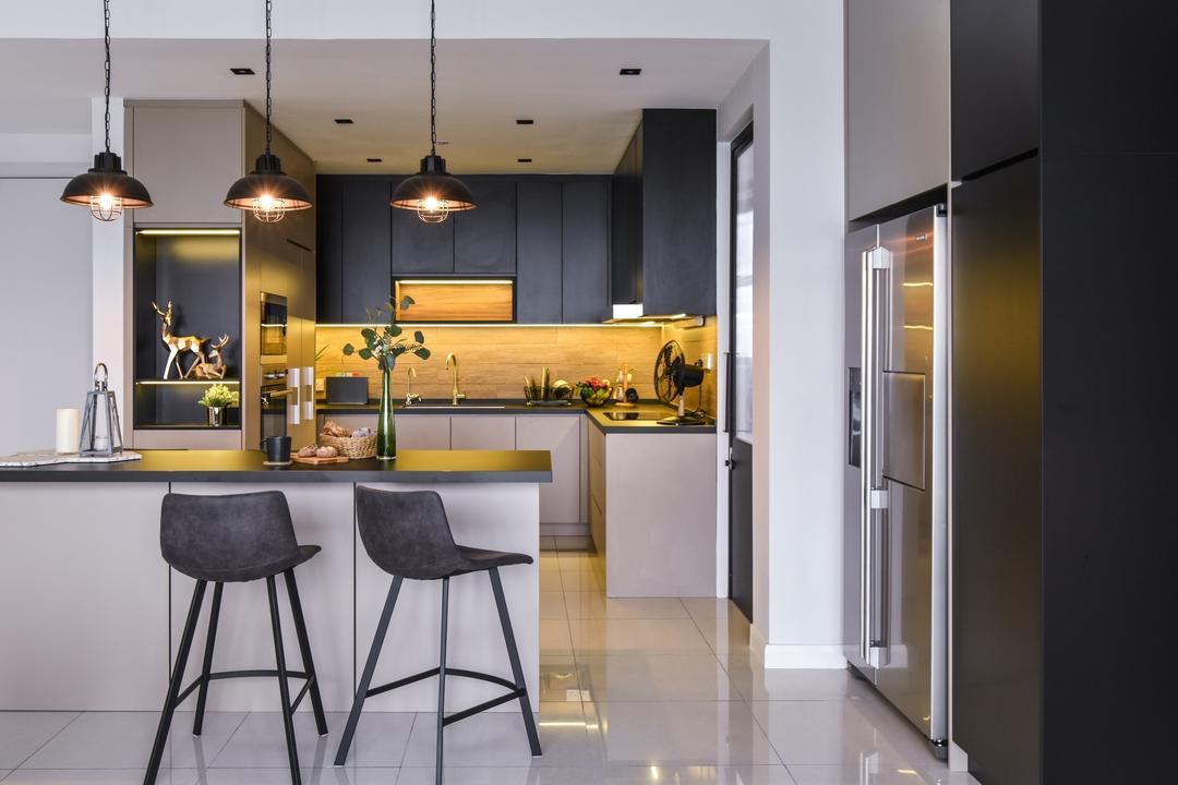 Secoya Residence, KL by IQI Concept Interior Design & Renovation