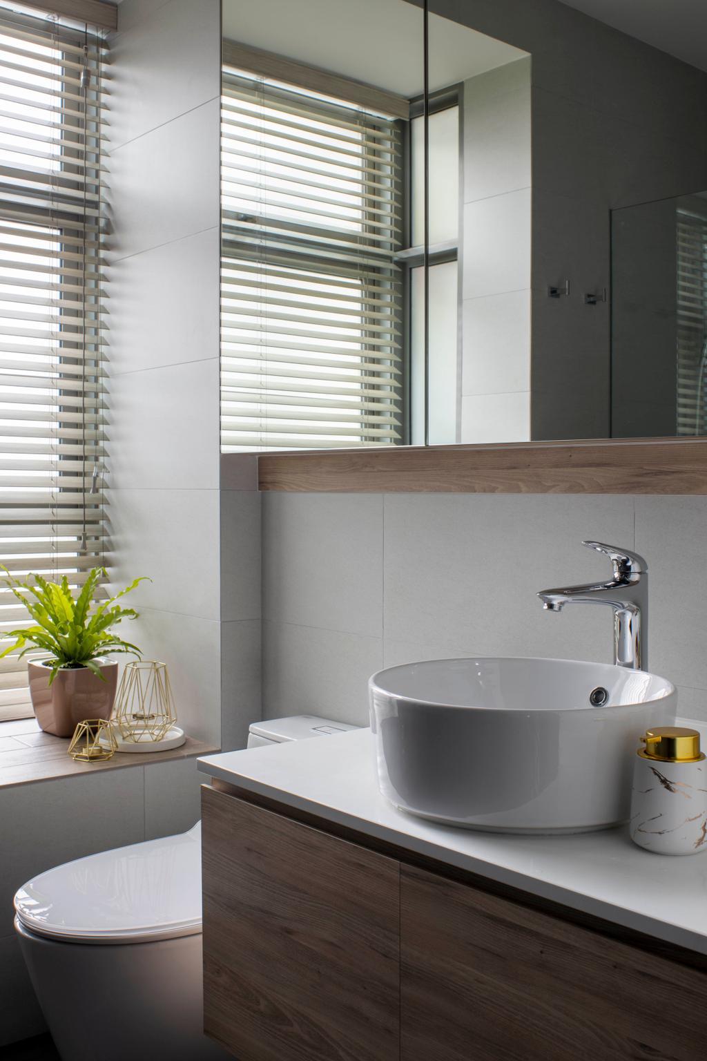Contemporary, Condo, Bathroom, The Infiniti, Interior Designer, Briey Interior