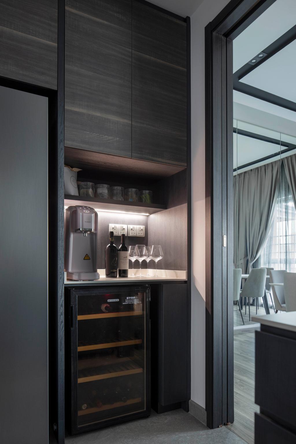 Contemporary, Condo, Kitchen, The Infiniti, Interior Designer, Briey Interior