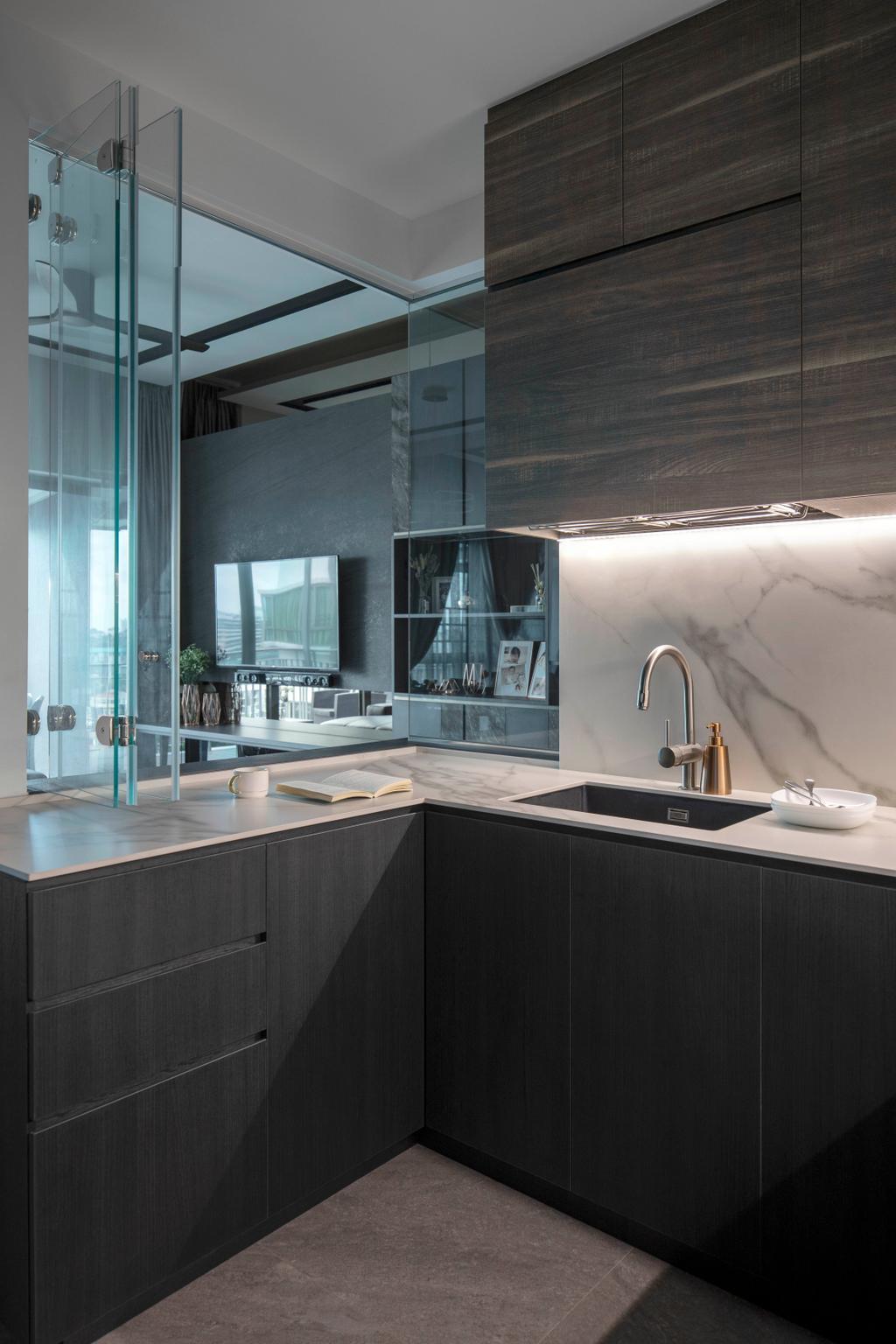 Contemporary, Condo, The Infiniti, Interior Designer, Briey Interior