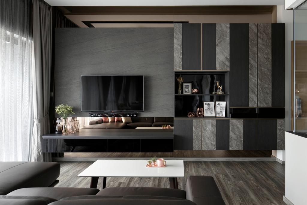 Contemporary, Condo, Living Room, The Infiniti, Interior Designer, Briey Interior