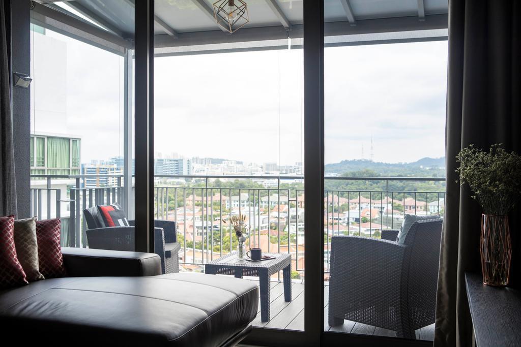 Contemporary, Condo, Balcony, The Infiniti, Interior Designer, Briey Interior