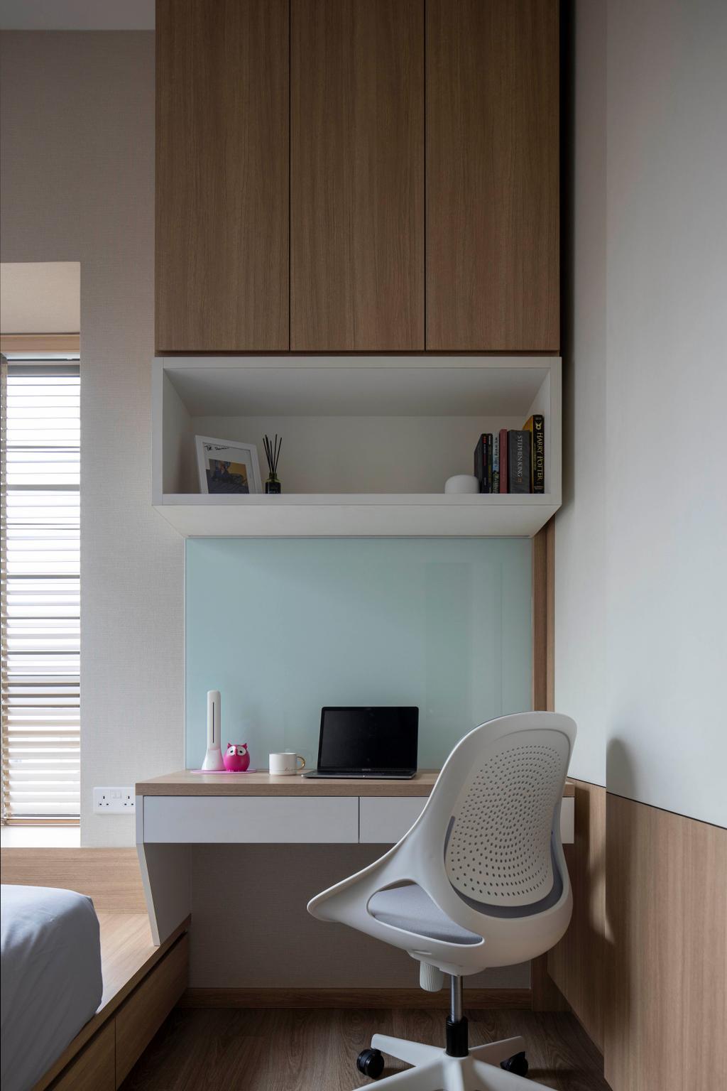 Contemporary, Condo, Study, The Infiniti, Interior Designer, Briey Interior