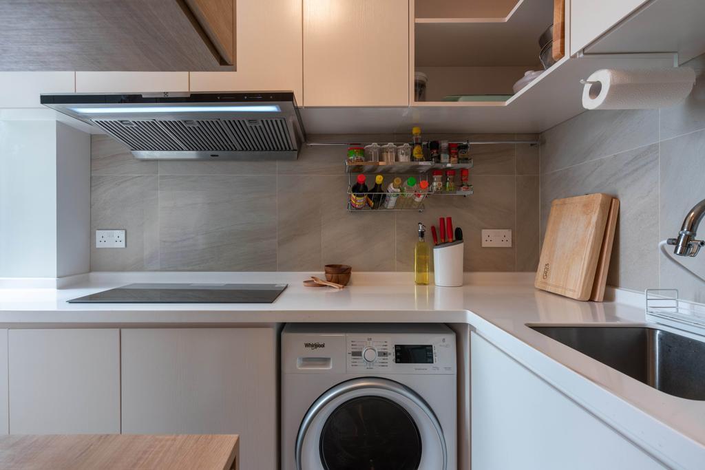 北歐, 公屋/居屋, 廚房, 天水圍天祐苑, 室內設計師, X Ka Design, 簡約