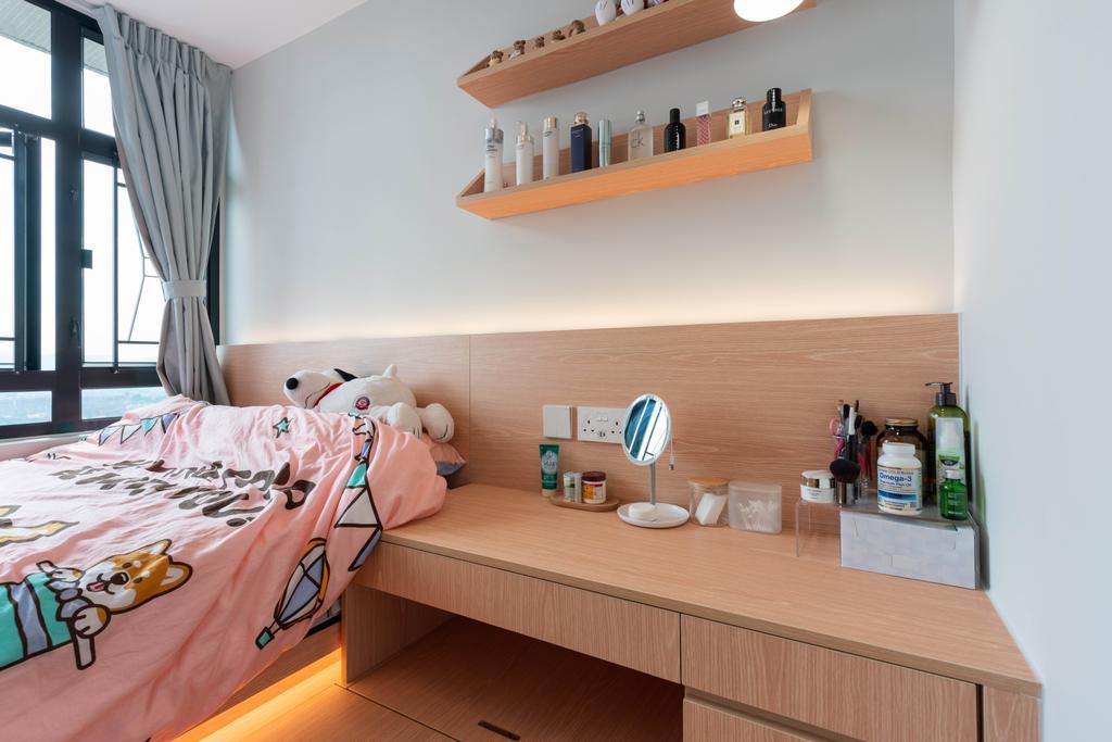 北歐, 公屋/居屋, 睡房, 天水圍天祐苑, 室內設計師, X Ka Design, 簡約