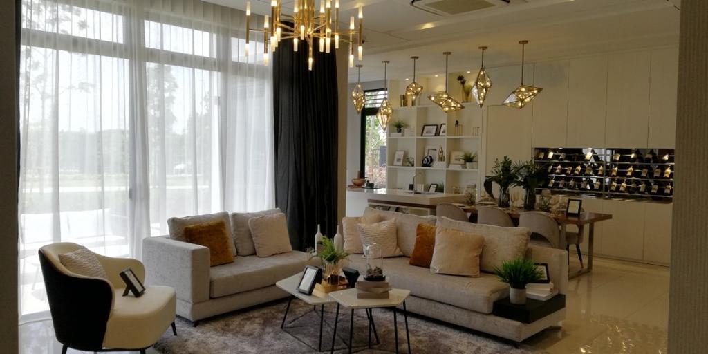 Modern, Landed, Eco Ardence, Setia Alam, Interior Designer, MG Interior Solution
