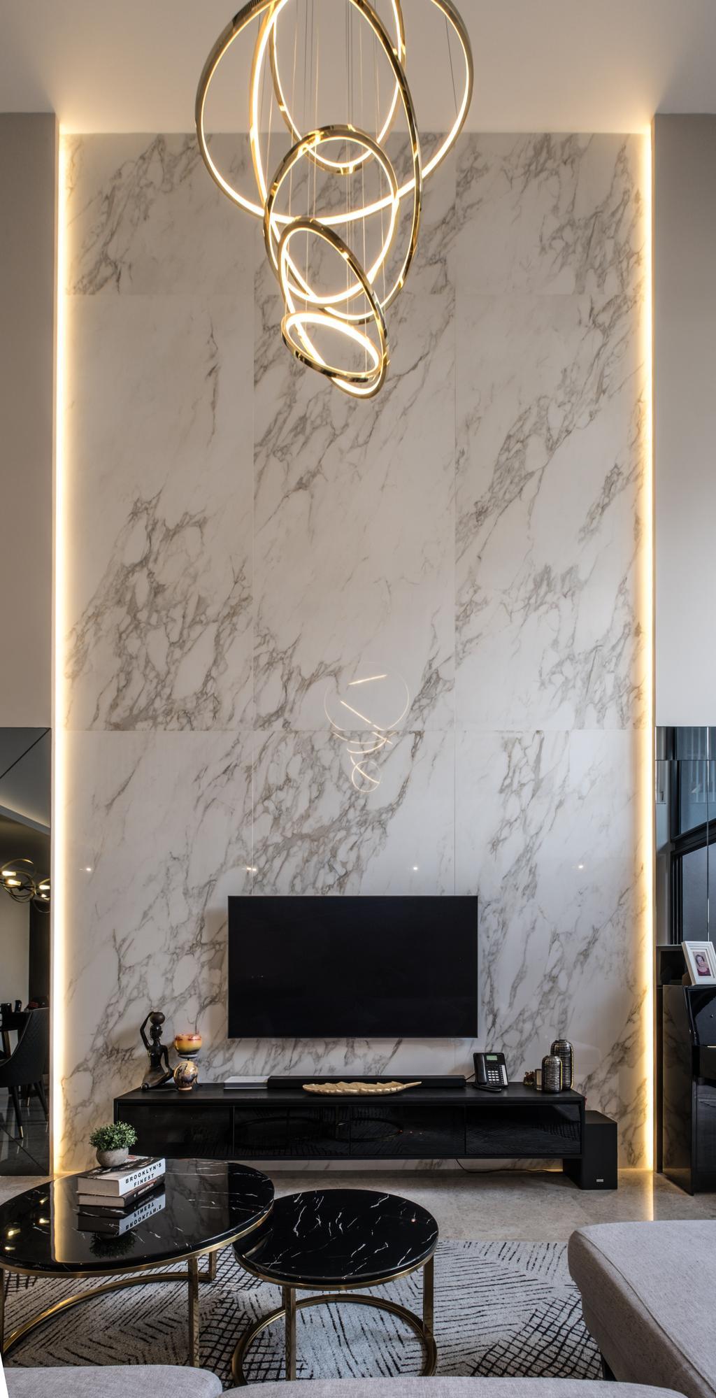 Modern, Landed, Living Room, Nim Collection, Interior Designer, United Team Lifestyle