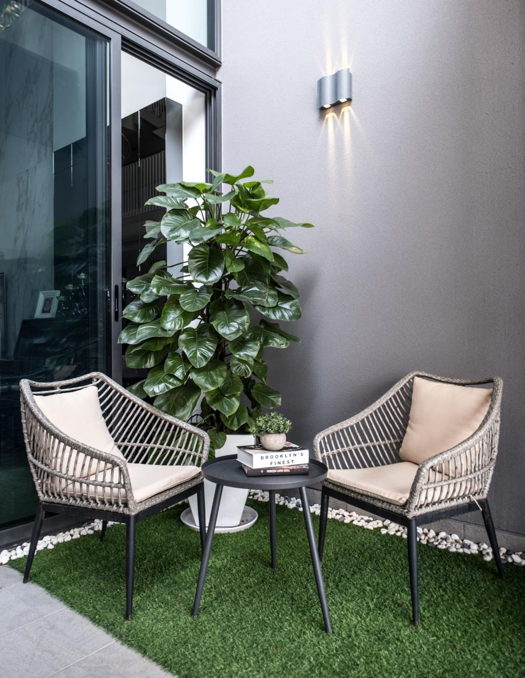 Modern, Landed, Balcony, Nim Collection, Interior Designer, United Team Lifestyle