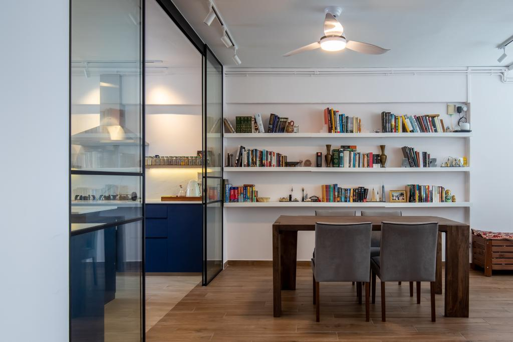 Contemporary, HDB, Dining Room, Sims Drive, Interior Designer, APH Projects, Scandinavian