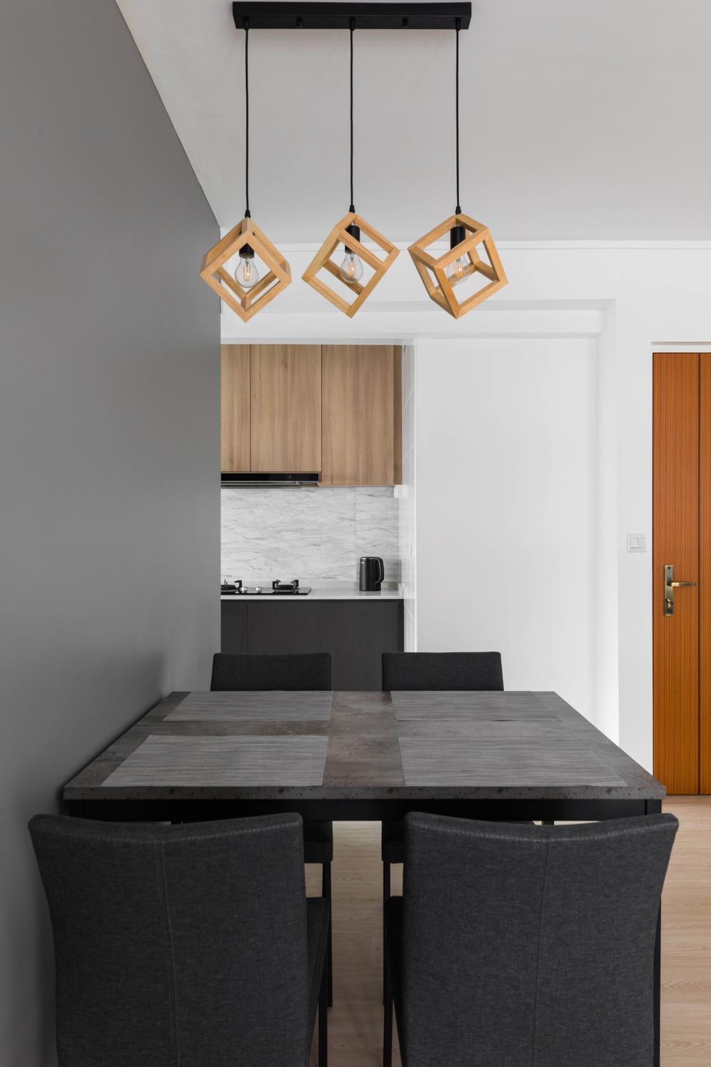 Scandinavian, HDB, Dining Room, Pasir Ris Street 51, Interior Designer, ELPIS Interior Design