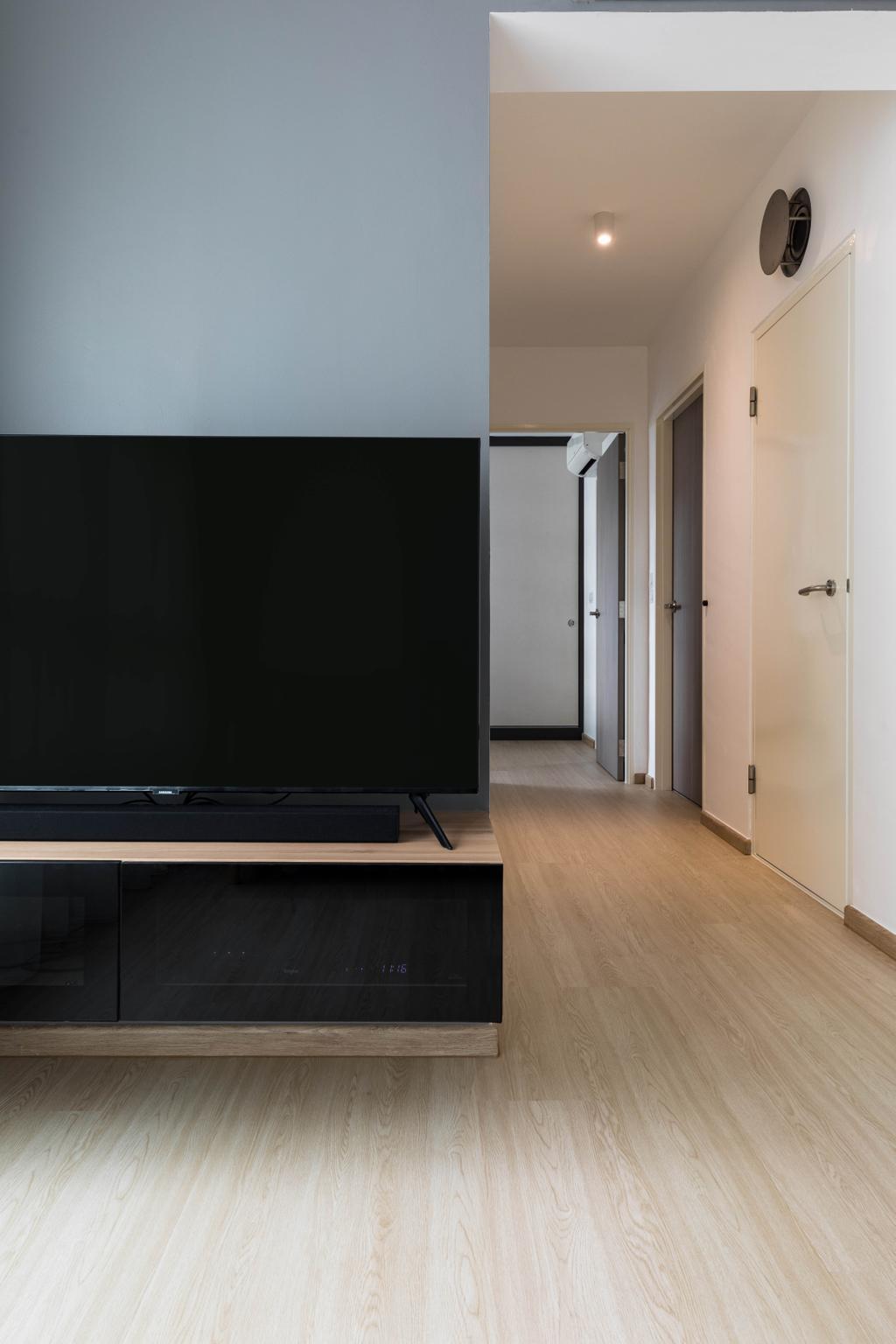 Scandinavian, HDB, Living Room, Pasir Ris Street 51, Interior Designer, ELPIS Interior Design