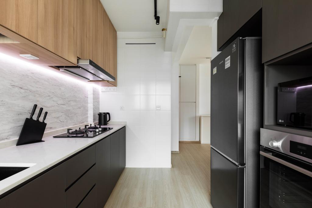Scandinavian, HDB, Kitchen, Pasir Ris Street 51, Interior Designer, ELPIS Interior Design