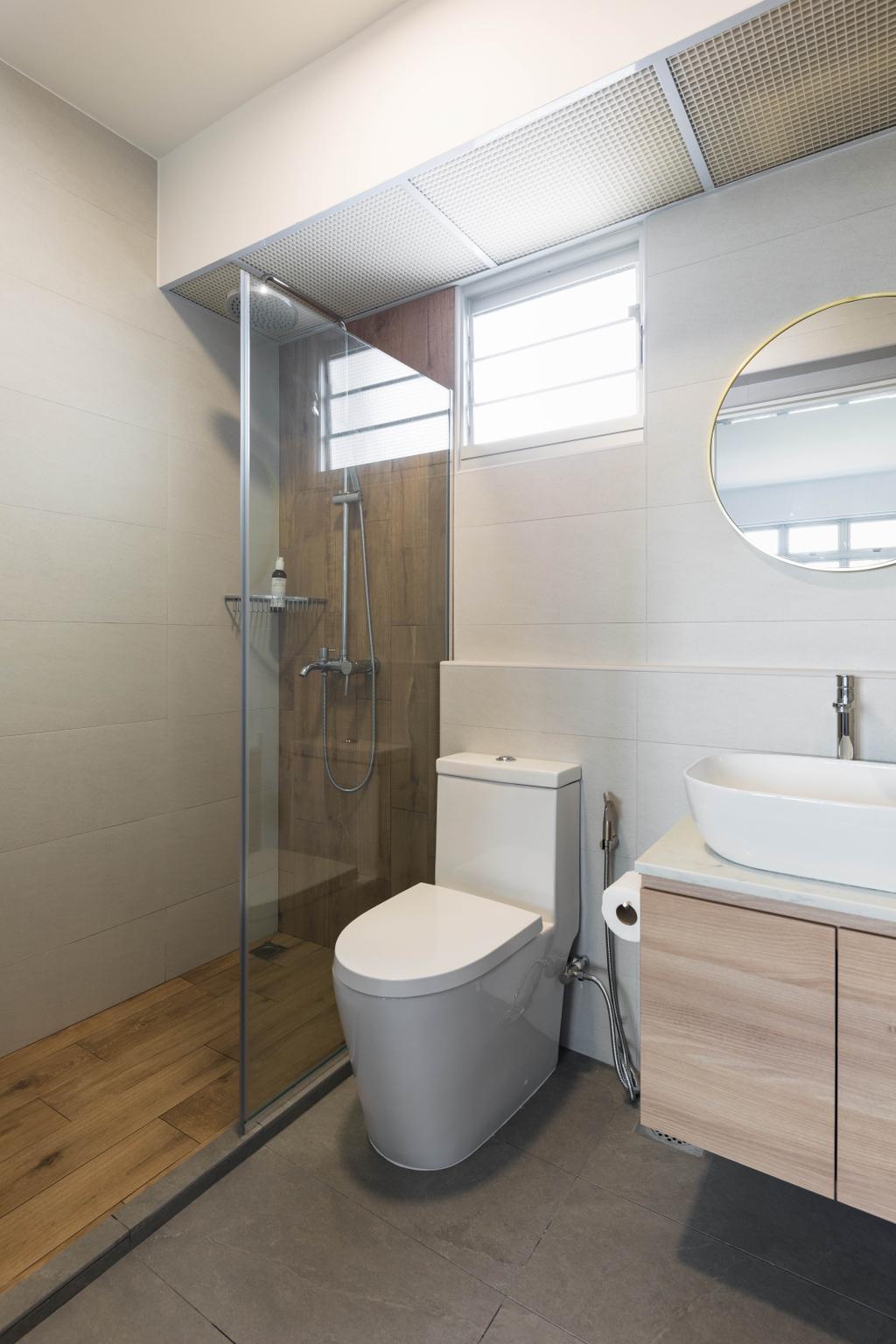 Scandinavian, HDB, Bathroom, Pasir Ris Street 51, Interior Designer, ELPIS Interior Design
