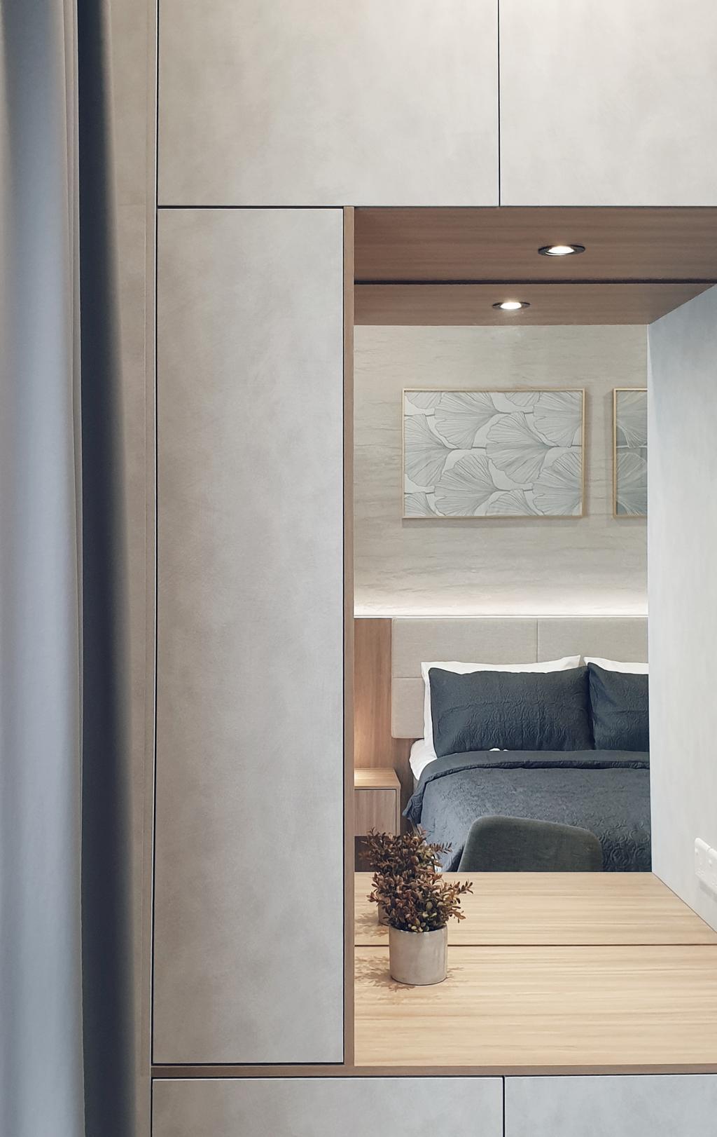 Modern, Condo, Bedroom, Sierramas Height, Sungai Buloh, Interior Designer, Josh Thompson Interiors, Contemporary