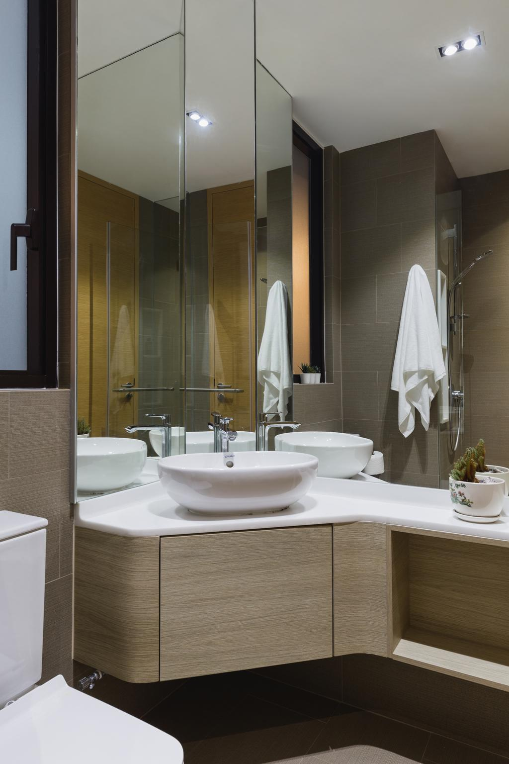 Contemporary, Condo, Bathroom, The Crest, Interior Designer, Posh Home, Modern
