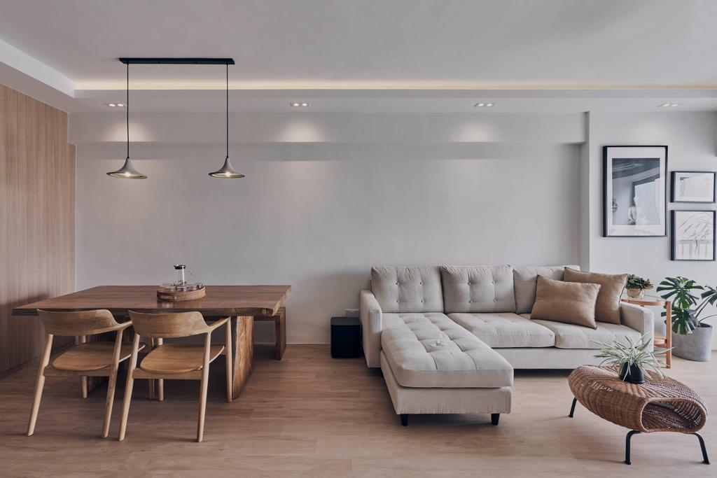 Scandinavian, HDB, Living Room, Bishan Street 22, Interior Designer, Charlotte's Carpentry