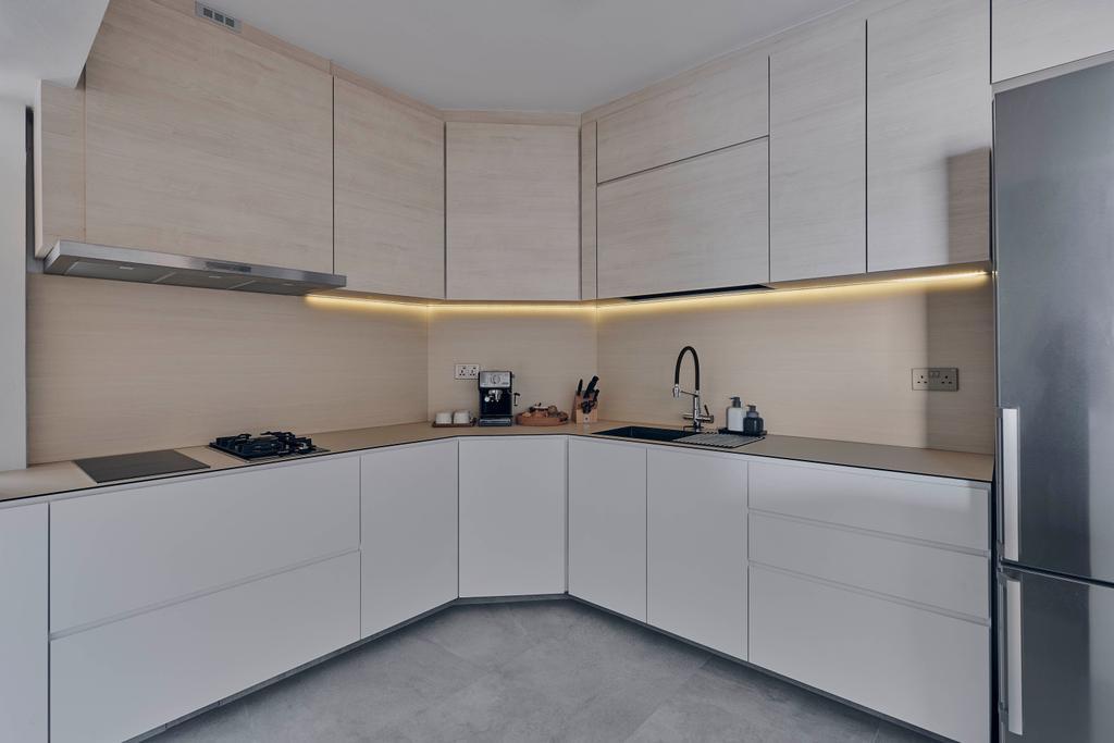 Scandinavian, HDB, Kitchen, Bishan Street 22, Interior Designer, Charlotte's Carpentry