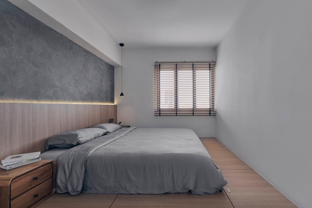 Scandinavian, HDB, Bedroom, Bishan Street 22, Interior Designer, Charlotte's Carpentry