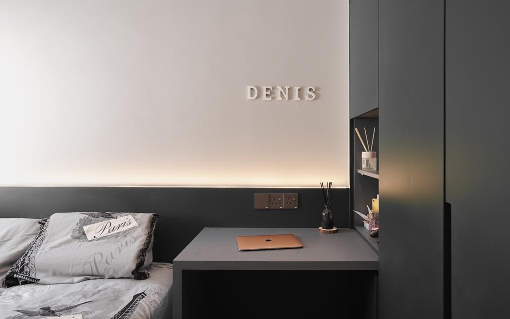 Contemporary, Condo, Bedroom, The Park, Bukit Jalil, Interior Designer, Doubble Interior Associates