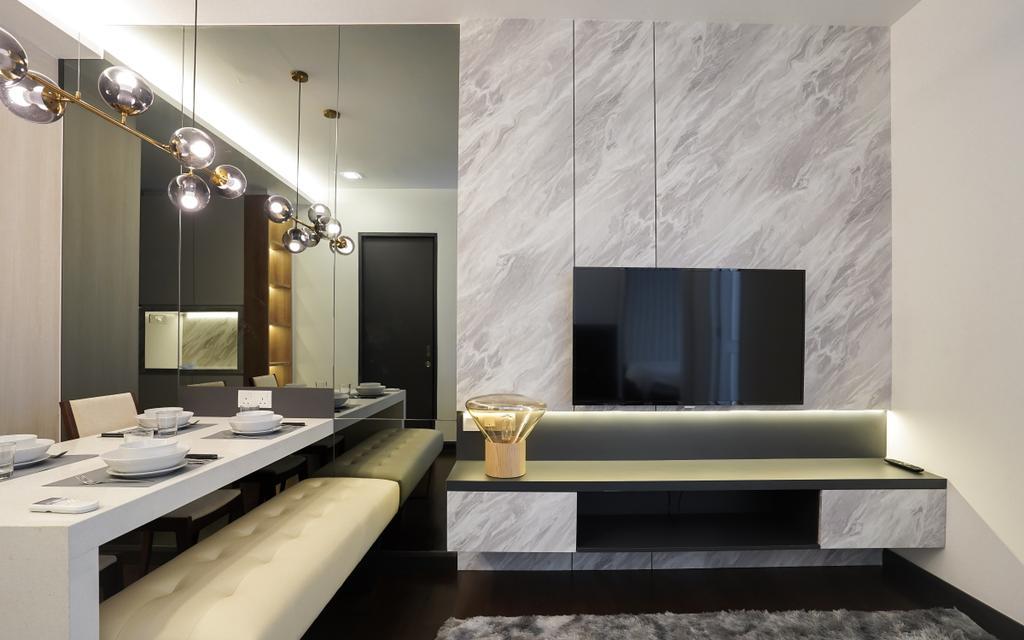 Contemporary, Condo, Bedroom, Sunway Velocity, Cheras, Interior Designer, Doubble Interior Associates