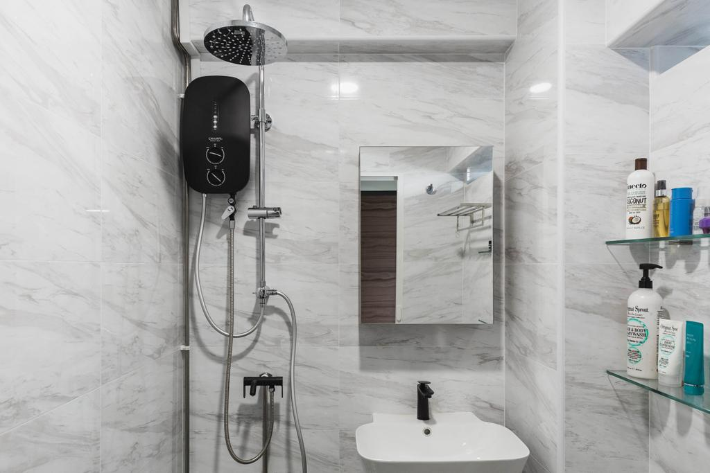 Modern, HDB, Bathroom, Whampoa Drive, Interior Designer, Colourbox Interior