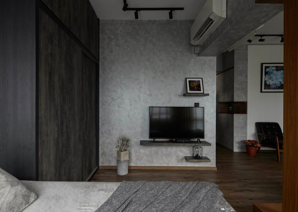 Contemporary, HDB, Bedroom, Canberra Street, Interior Designer, SHE Interior