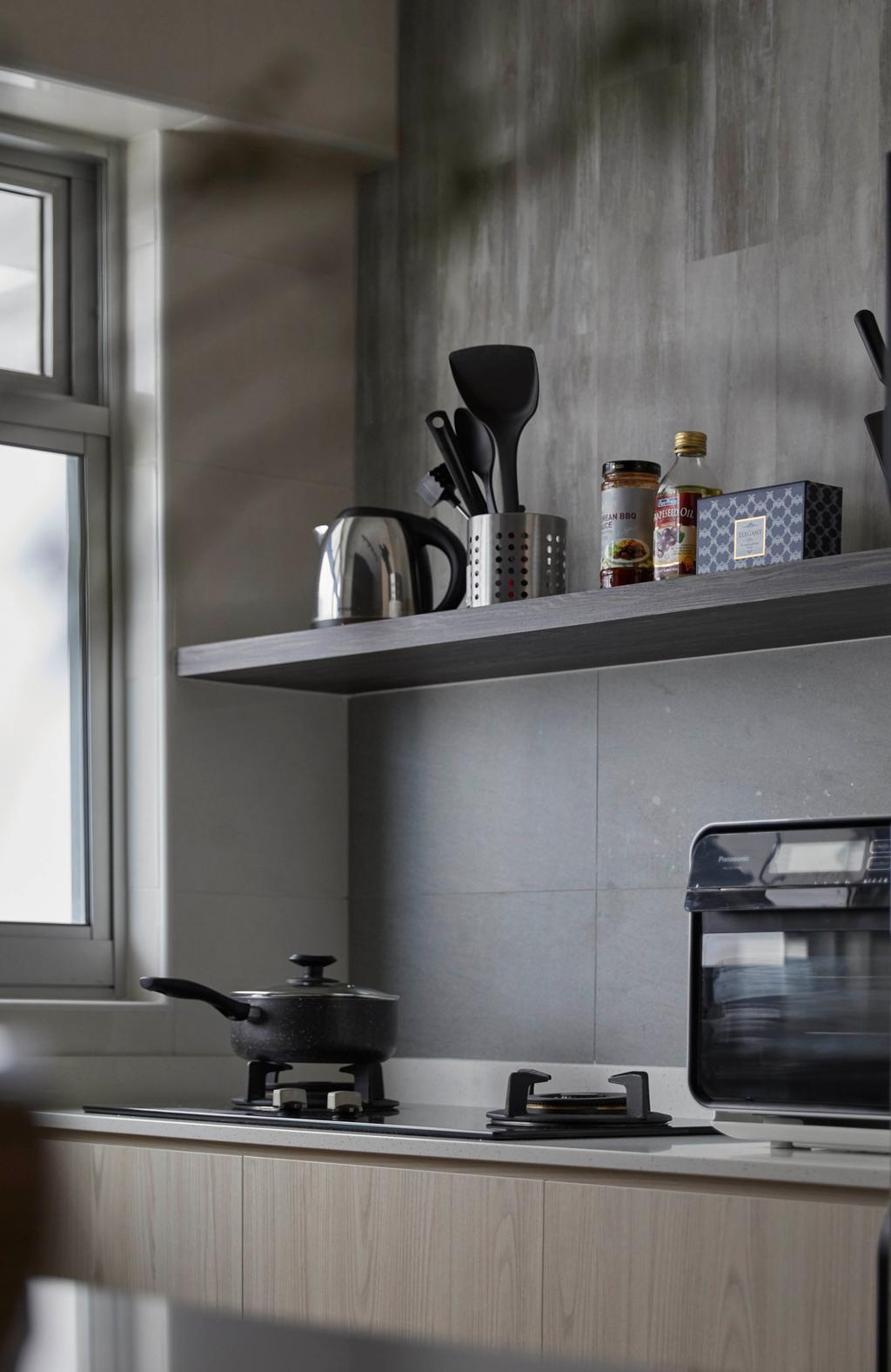 Contemporary, HDB, Kitchen, Canberra Street, Interior Designer, SHE Interior