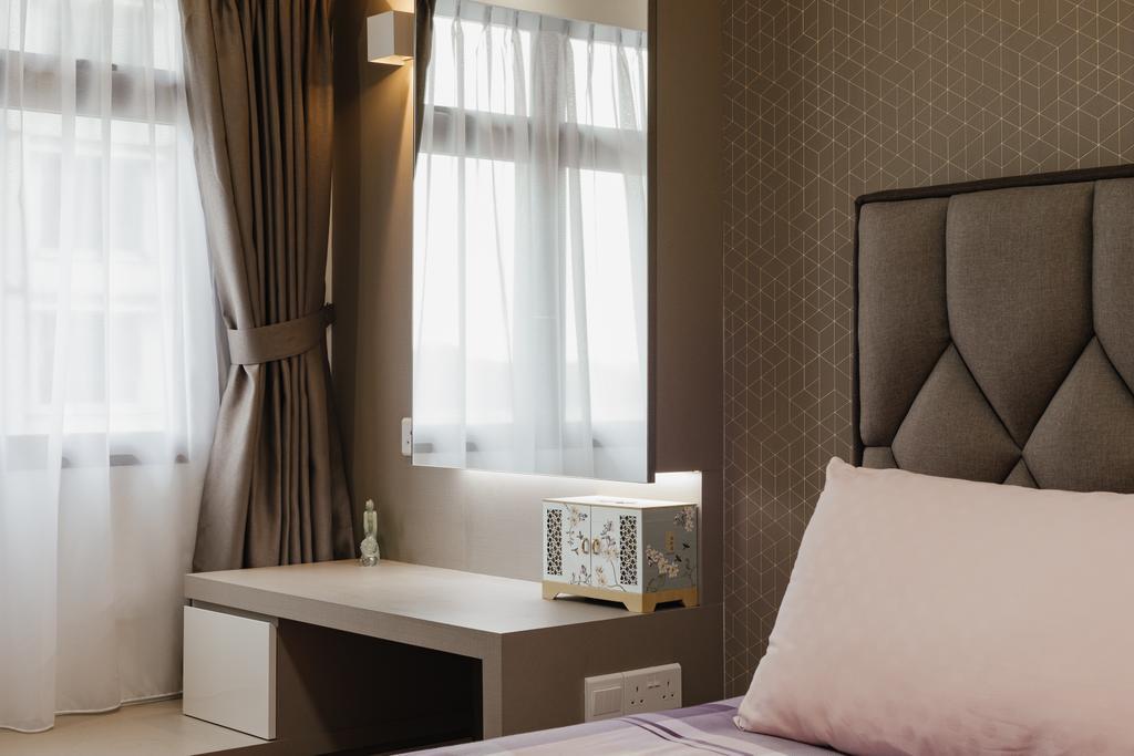 Modern, HDB, Bedroom, Sengkang West Road, Interior Designer, 96 Designers Group