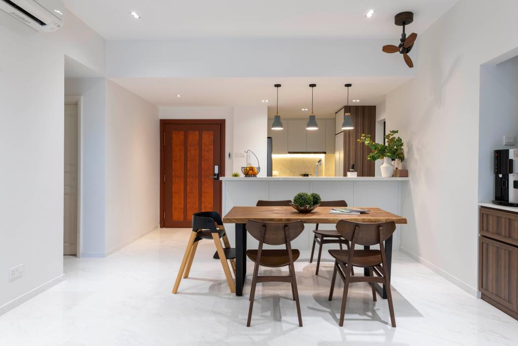 Modern, Condo, Dining Room, Aspen Heights, Interior Designer, Meter Square, Contemporary