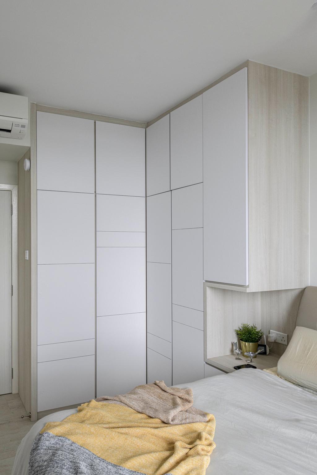 Minimalistic, Condo, Bedroom, Grandeur 8, Interior Designer, Meter Square