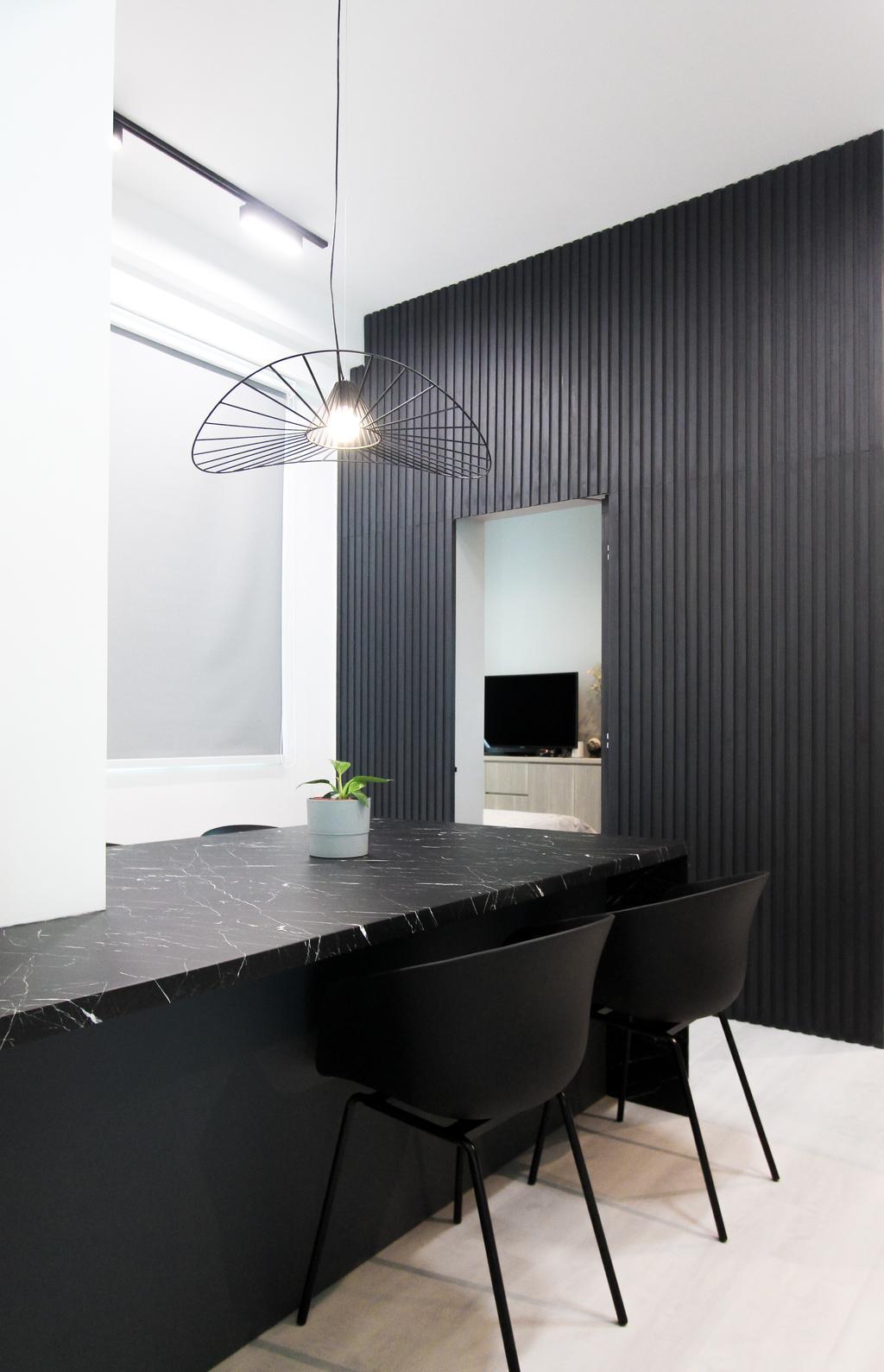 Contemporary, Condo, Dining Room, Tanglin Regency, Interior Designer, Design Story